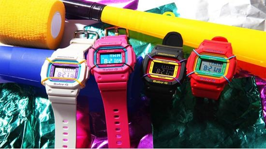 chinh phục sự nổi bật với đồng hồ điện tử nữ 7
