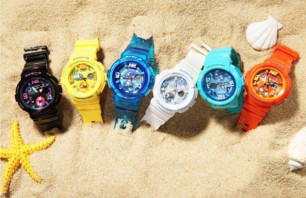 đồng hồ thể thao nữ babyg tung tăng ở biển 2