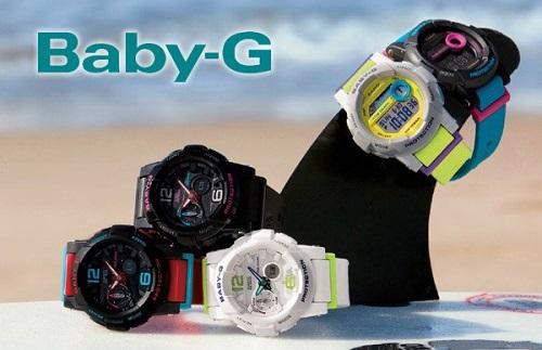 đồng hồ thể thao nữ babyg tung tăng ở biển 3