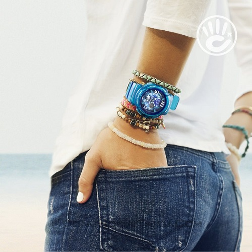nắng vàng biển xanh và em đồng hồ thể thao nữ 1