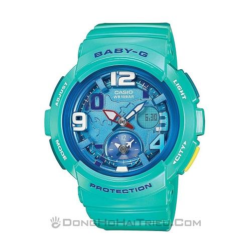 nắng vàng biển xanh và em đồng hồ thể thao nữ 3
