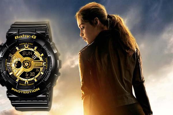3 tăng động với đồng hồ g-shock nữ