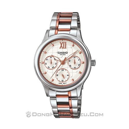 Búng tay là chọn được ngay đồng hồ casio giá rẻ nữ đẹp sp4 LTP-E306RG-7AVDF