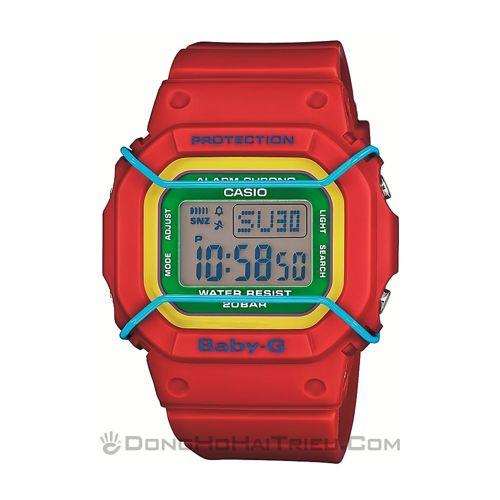 Đẹp chết người đó là đồng hồ điện tử đeo tay nữ Baby-G sp2 BGD-501-4BDR