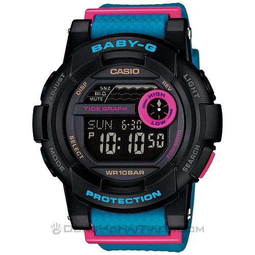 đồng hồ casio thể thao nữ tính và xinh đẹp 2