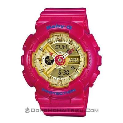 3 cách chỉnh giờ đồng hồ Casio Baby-G